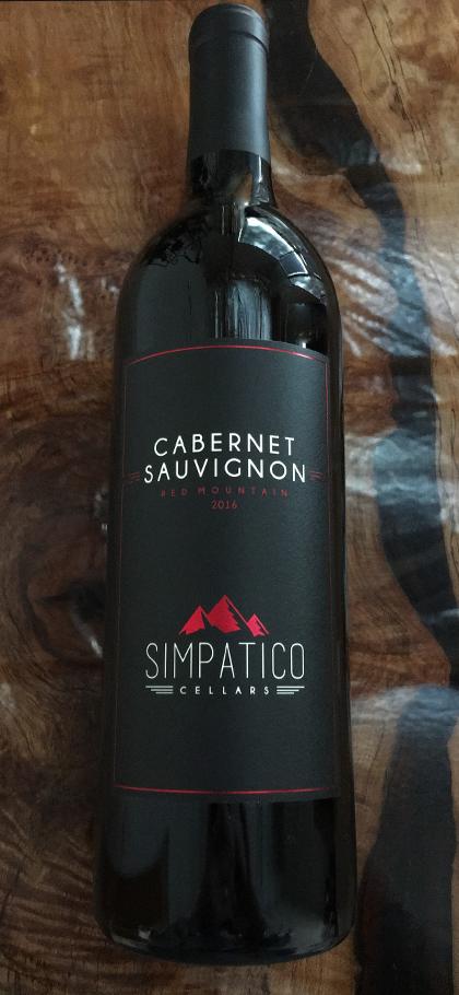 Simpatico Cellars 2016 Cabernet Sauvignon